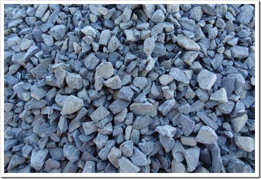 Нежелательное использование песчано-гравийной смеси