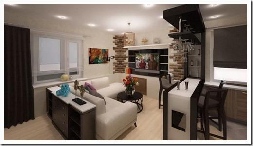 Оптимальное расположение мебели
