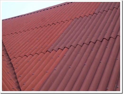 Монтаж листов Ондулин на крышу