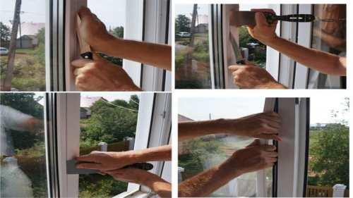 Как вытащить стеклопакет из пластикового окна