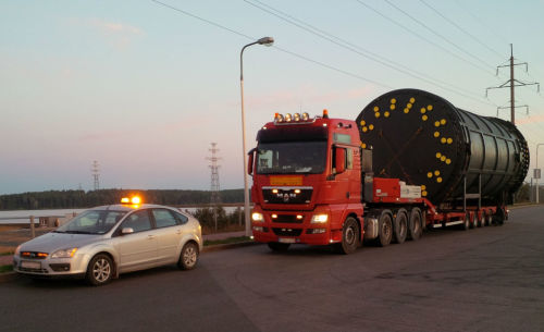 Как проводится перевозка негабаритных грузов