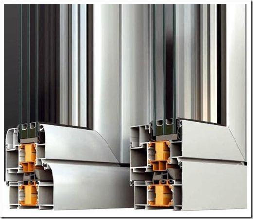 Как выполнить установку алюминиевых окон?