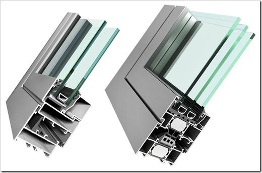 Отличительные особенности современного алюминиевого остекления