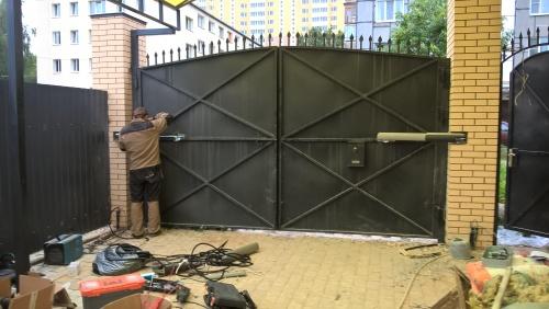 Как сделать автоматические ворота своими руками