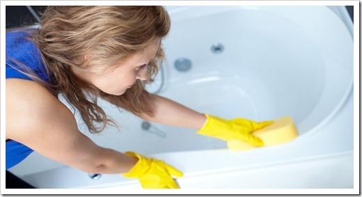Какие требования выдвигаются к чистке ванны из акрила?
