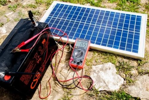 Как подключить солнечную панель к аккумулятору