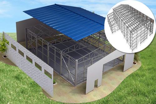 Виды зданий из металлоконструкций