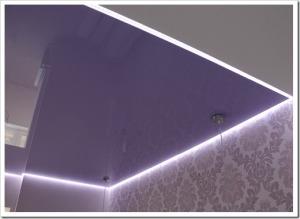 Чем отличается профиль парящего натяжного потолка от обычного?