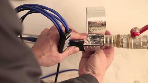 Как монтировать нагревательный кабель