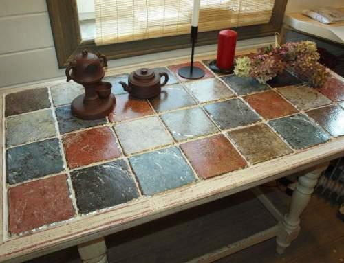 Как обновить старый кухонный стол