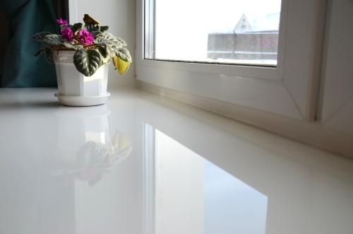 Чем покрасить белый пластиковый подоконник