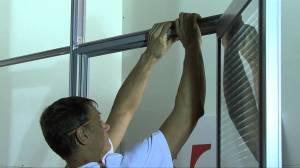 Монтаж офисных перегородок из стекла
