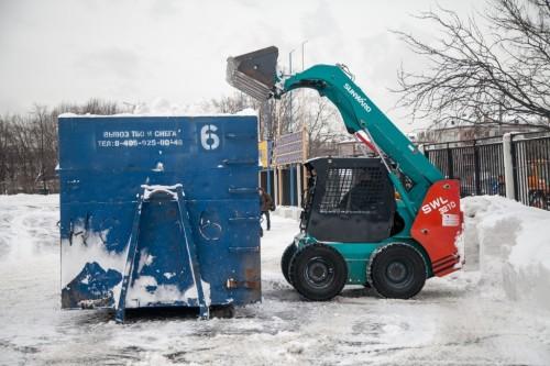 Как рассчитать вывоз снега с территории