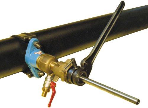 Как врезаться в пластиковую газовую трубу