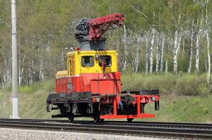 Роликовые платформы и другая путевая железнодорожная техника