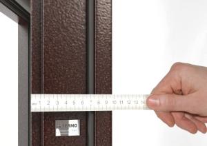 Какая должна быть толщина металла входной двери