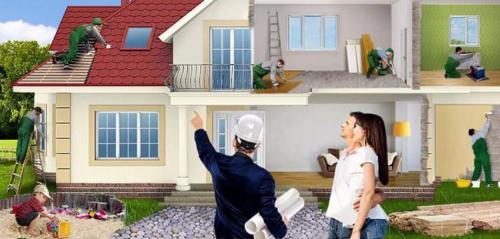 С чего начать капитальный ремонт частного дома