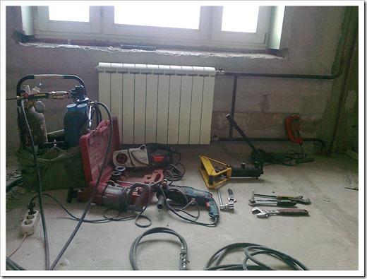 Установка/замена радиаторов отопления под ключ
