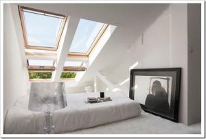 Мансардные окна для чердаков и комнат под крышей