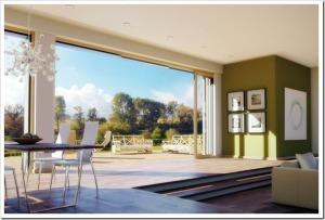 Фасадные раздвижные двери Unilux